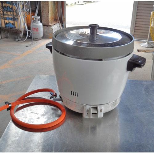 【中古】炊飯器 2升 リンナイ RR-20SF2 幅431×奥行334.5×高さ348 LPG(プロパンガス) 【送料別途見積】【業務用】