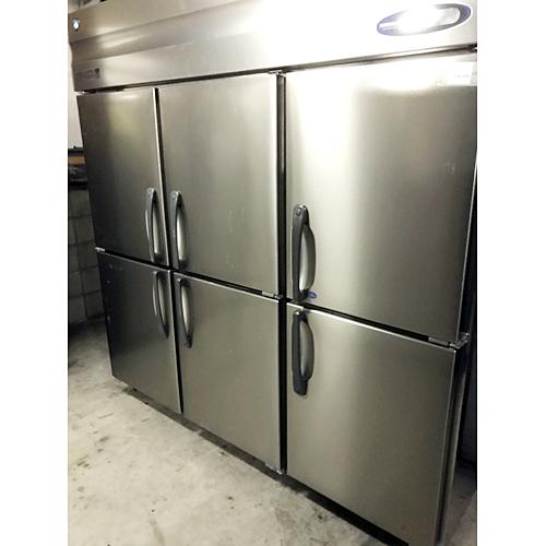 【中古】縦型冷凍冷蔵庫 ホシザキ HRF-180Z3 幅1800×奥行800×高さ1890 三相200V 【送料別途見積】【業務用】