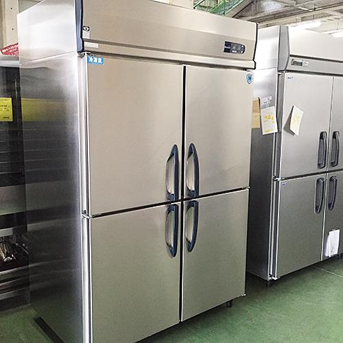 【中古】4ドア冷凍冷蔵庫 大和冷機 413S1-EC 幅1200×奥行800×高さ1900 三相200V 【送料別途見積】【業務用】