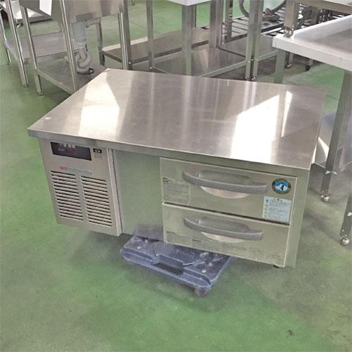 【中古】冷蔵低ドロワーコールドテーブル ホシザキ RTL-90DNC 幅900×奥行600×高さ500 【送料別途見積】【業務用】
