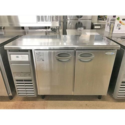 【中古】冷蔵コールドテーブル 福島工業(フクシマ) YRC-120RE 幅1200×奥行600×高さ800 【送料別途見積】【業務用】