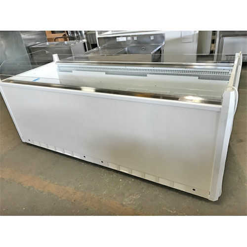 【中古】平型冷凍ショーケース サンデン WLO-223ZB 幅2260×奥行910×高さ910 三相200V 【送料無料】【業務用】