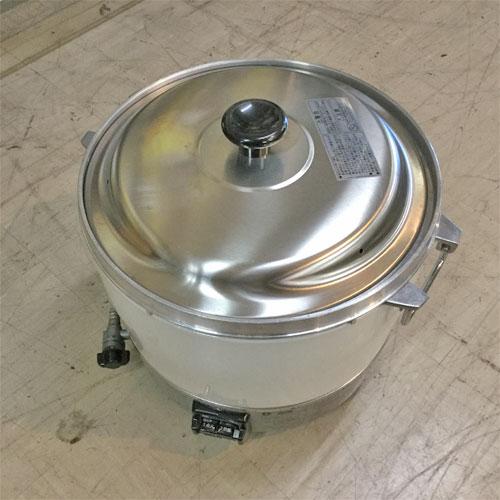 【中古】ガス炊飯器 リンナイ RR-30S1 幅450×奥行421×高さ407 都市ガス 【送料別途見積】【業務用】