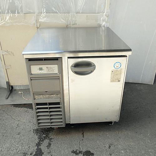 【中古】冷蔵コールドテーブル 福島工業(フクシマ) YRW-080RM2 幅755×奥行750×高さ800 【送料無料】【業務用】