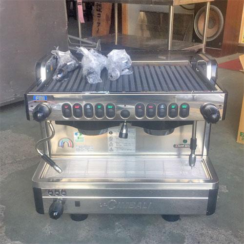 【中古】チンバリコーヒーマシン FMI(エフエムアイ) M29SELECT-DT 幅570×奥行565×高さ480 【送料別途見積】【業務用】