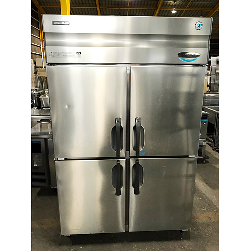 【中古】縦型冷凍冷蔵庫 ホシザキ HRF-120XT3 幅1200×奥行650×高さ1900 三相200V 【送料無料】【業務用】