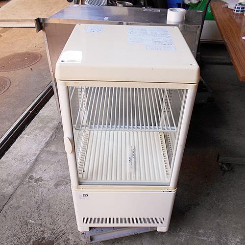 【中古】卓上冷蔵ショーケース サンデン AG-54XE 幅397×奥行376×高さ451 【送料別途見積】【業務用】