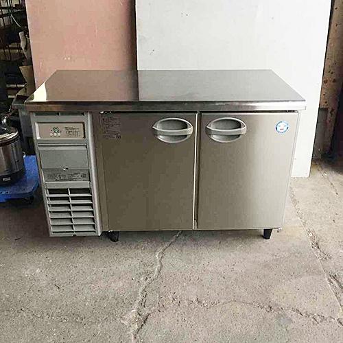 【中古】冷蔵コールドテーブル 福島工業(フクシマ) YRC-120RE2 幅1200×奥行600×高さ800 【送料別途見積】【業務用】