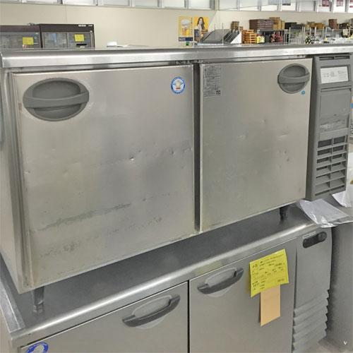 【中古】冷凍冷蔵コールドテーブル(2ドア) 福島工業(フクシマ) YRC-151PM2R 幅1500×奥行600×高さ800 【送料別途見積】【業務用】