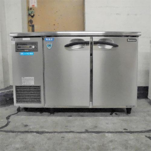 【中古】冷凍冷蔵コールドテーブル 大和冷機 4641S 幅1200×奥行450×高さ815 【送料別途見積】【業務用】
