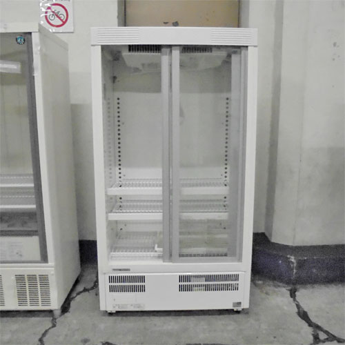 【中古】冷蔵ショーケース パナソニック(Panasonic) SMR-M129NB 幅750×奥行450×高さ1395 【送料別途見積】【業務用】