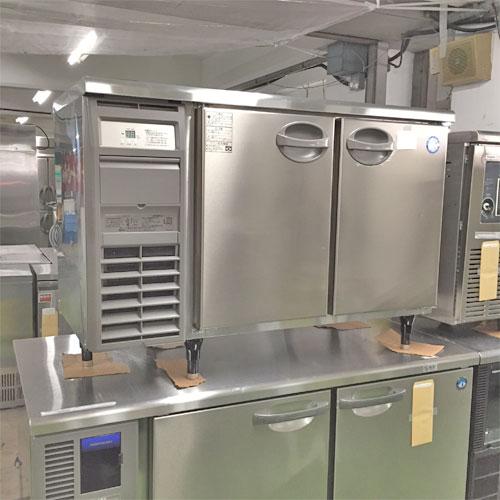 【中古】冷蔵サンドイッチコールドテーブル 福島工業(フクシマ) YRC-120RM2-F(改) 幅1200×奥行650×高さ800 【送料無料】【業務用】
