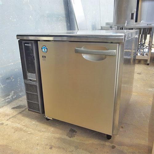 【中古】冷蔵コールドテーブル ホシザキ RT-80SDE 幅800×奥行800×高さ800 【送料別途見積】【業務用】