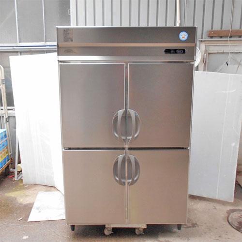 【中古】縦型冷凍冷蔵庫 福島工業(フクシマ) ARN-121PM 幅1200×奥行650×高さ1950 【送料別途見積】【業務用】