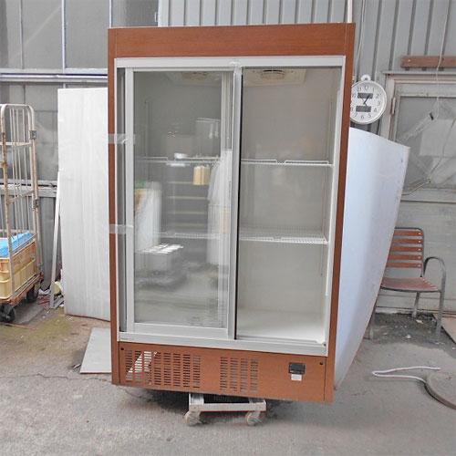【中古】冷蔵リーチインショーケース パナソニック(Panasonic) SRM-RV419MA 幅1200×奥行650×高さ1900 【送料別途見積】【業務用】