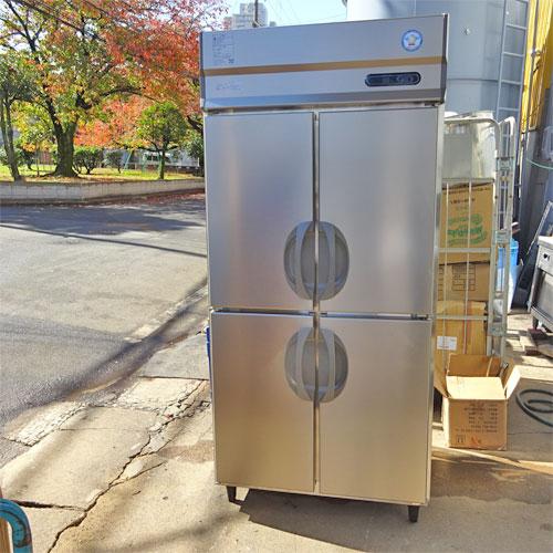 【中古】縦型冷蔵庫 福島工業(フクシマ) ARN-090RM 幅900×奥行650×高さ1950 【送料別途見積】【業務用】