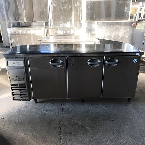 【中古】冷蔵コールドテーブル 福島工業(フクシマ) YRC-180RE2 幅1800×奥行600×高さ800 【送料別途見積】【業務用】