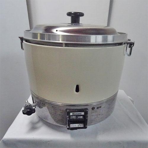【中古】炊飯器 リンナイ RR-30S1 幅450×奥行421×高さ425 LPG(プロパンガス) 【送料別途見積】【業務用】