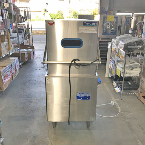 【中古】食器洗浄機 マルゼン MDDTB6 幅640×奥行670×高さ1445 三相200V 【送料別途見積】【業務用】