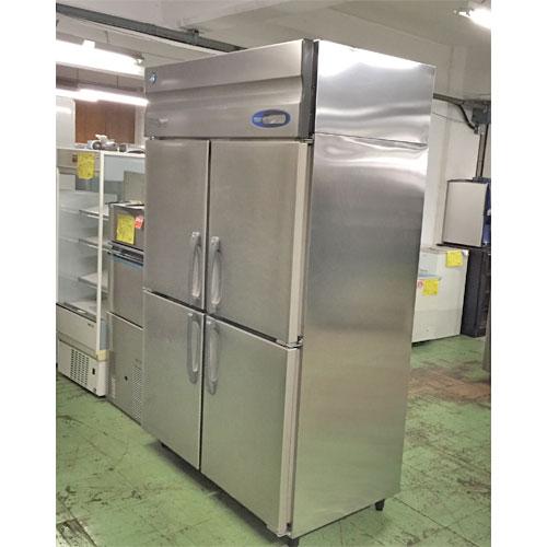 【中古】冷蔵庫 ホシザキ HR-120ZT3 幅1200×奥行650×高さ1890 三相200V 【送料別途見積】【業務用】