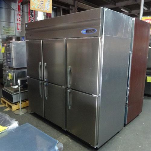 【中古】縦型冷凍冷蔵庫 ホシザキ HRF-180Z4F3 幅1800×奥行800×高さ1890 三相200V 【送料別途見積】【業務用】