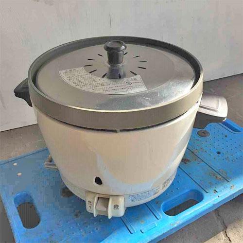 【中古】炊飯器 リンナイ RR-15SF-1 幅318×奥行431×高さ331 LPG(プロパンガス) 【送料別途見積】【業務用】