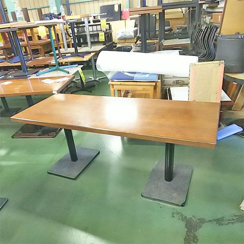 【中古】テーブル 幅1760×奥行700×高さ690 【送料別途見積】【業務用】