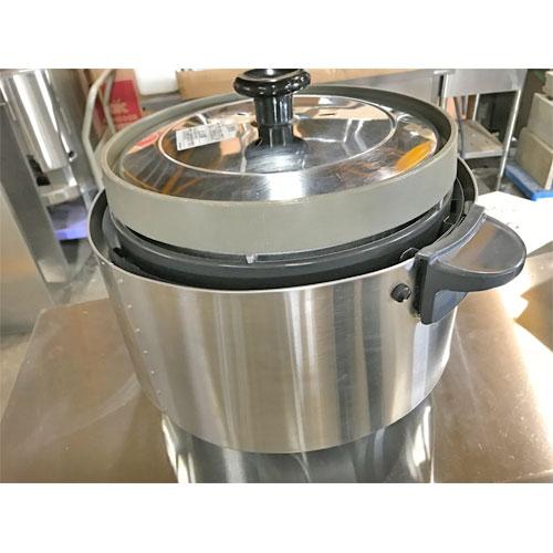 【中古】ガス炊飯器 リンナイ RR-20SF 幅470×奥行378×高さ357 都市ガス 【送料無料】【業務用】