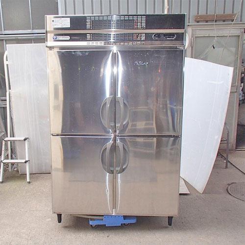 【中古】縦型冷凍冷蔵庫 福島工業(フクシマ) URD-41PM 幅1200×奥行800×高さ1950 【送料別途見積】【業務用】