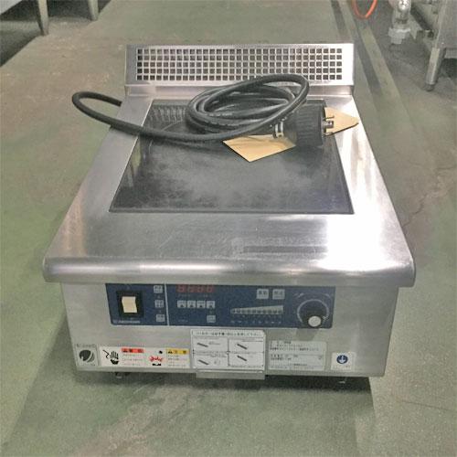 【中古】IH調理器 ニチワ電機 MIR-5TA-N5 幅450×奥行600×高さ290 三相200V 【送料別途見積】【業務用】