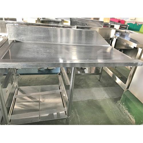 【中古】ソイルドテーブル 幅1220×奥行650×高さ800 【送料別途見積】【業務用】