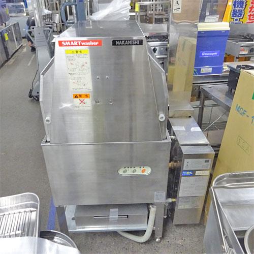 【中古】食器洗浄機 中西製作所 i400 幅650×奥行650×高さ1300 三相200V 60Hz専用 【送料別途見積】【業務用】