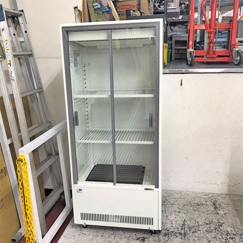 【中古】冷蔵ショーケース サンデン VRS-106XE 幅633×奥行435×高さ1445 【送料無料】【業務用】