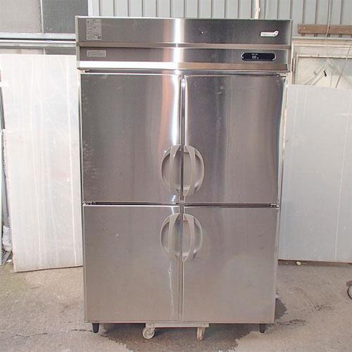 【中古】縦型冷蔵庫 福島工業(フクシマ) URD-120RM6 幅1200×奥行800×高さ1950 【送料別途見積】【業務用】