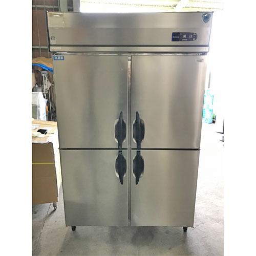 【中古】縦型冷凍冷蔵庫 大和冷機 413S1-EC 幅1200×奥行800×高さ1905 三相200V 【送料別途見積】【業務用】
