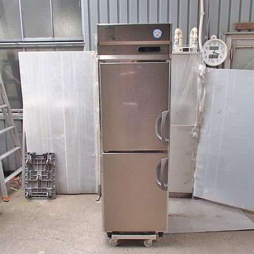 【中古】2ドア縦型冷凍庫 福島工業(フクシマ) URN-062FM6 幅610×奥行650×高さ1950 【送料別途見積】【業務用】