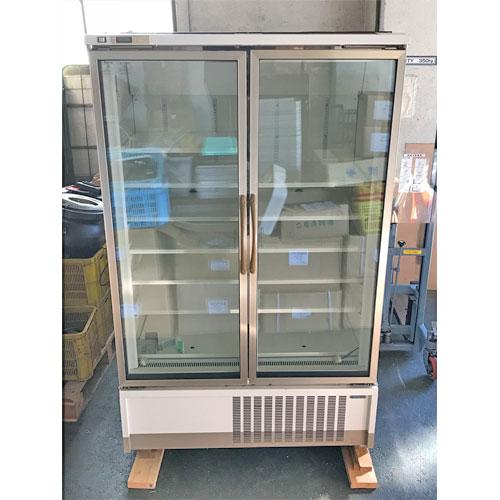 【中古】冷凍リーチインショーケース 富士電通リテイルシステムズ UEFG75AN-2EBM 幅1200×奥行750×高さ1900 三相200V 【送料別途見積】【業務用】