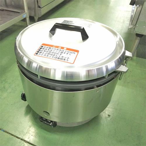 【中古】3升用ガス炊飯器 リンナイ RR-30S2-B 幅466×奥行438×高さ424 都市ガス 【送料無料】【業務用】