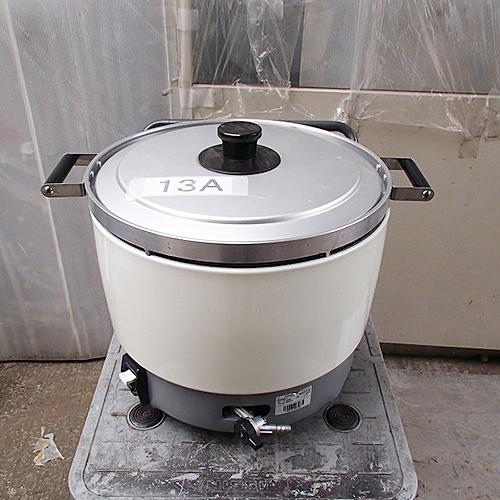 【中古】ガス炊飯器 パロマ PR-60SS-1 幅414×奥行513×高さ510 都市ガス 【送料別途見積】【業務用】