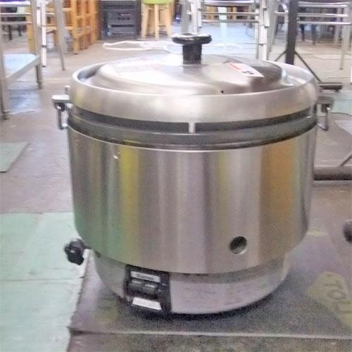 【中古】ガス炊飯器 リンナイ RR-30S2 幅500×奥行440×高さ430 都市ガス 【送料別途見積】【業務用】