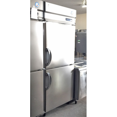 【中古】2ドア冷凍冷蔵庫 福島工業(フクシマ) ARN-081PM 幅750×奥行650×高さ1930 【送料別途見積】【業務用】