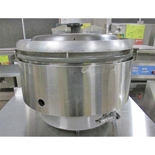 【中古】ガス炊飯器 リンナイ RR-50S2 幅543×奥行506×高さ436 都市ガス 【送料無料】【業務用】