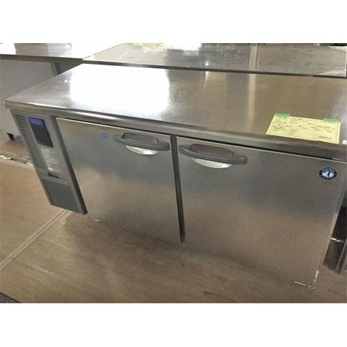 【中古】冷凍冷蔵コールドテーブル ホシザキ RFT-150MNF 幅1500×奥行600×高さ800 【送料別途見積】【業務用】