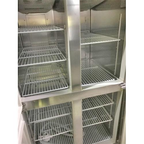 【中古】縦型冷凍冷蔵庫 ホシザキ HRF-90Z 幅900×奥行800×高さ1900 【送料別途見積】【業務用】