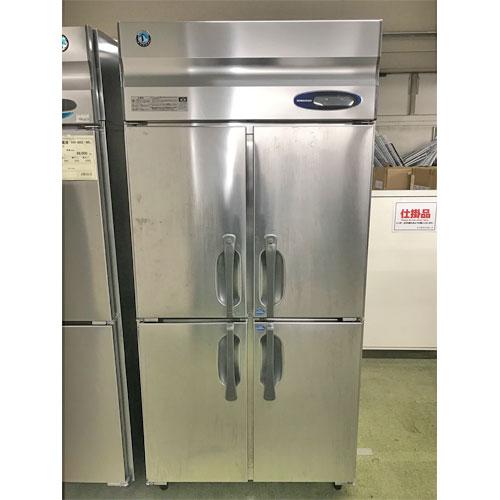 【中古】縦型冷凍冷蔵庫 ホシザキ HRF-90LZFT3 幅900×奥行650×高さ1890 三相200V 【送料別途見積】【業務用】