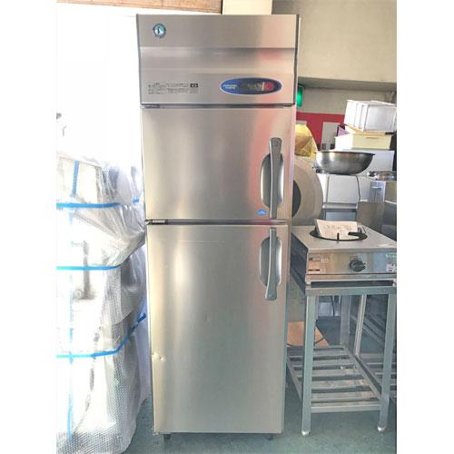 【中古】縦型冷凍冷蔵庫 ホシザキ HRF-63ZT-L 幅630×奥行650×高さ1900 【送料別途見積】【業務用】