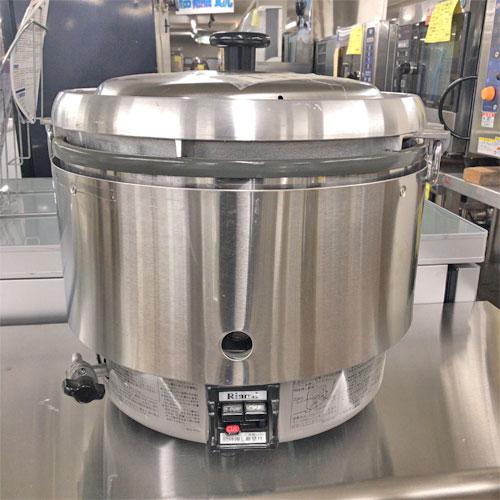 【中古】ガス炊飯器 リンナイ RR-30S2 幅466×奥行438×高さ442 都市ガス 【送料無料】【業務用】