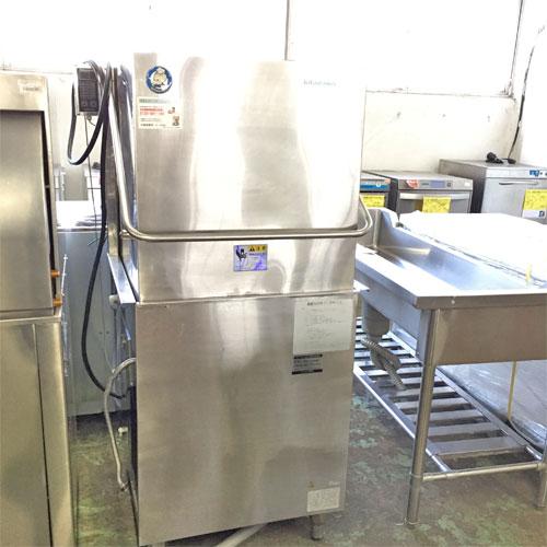 【中古】食器洗浄機 北沢産業 KWD-62E 幅670×奥行620×高さ1400 三相200V 【送料無料】【業務用】