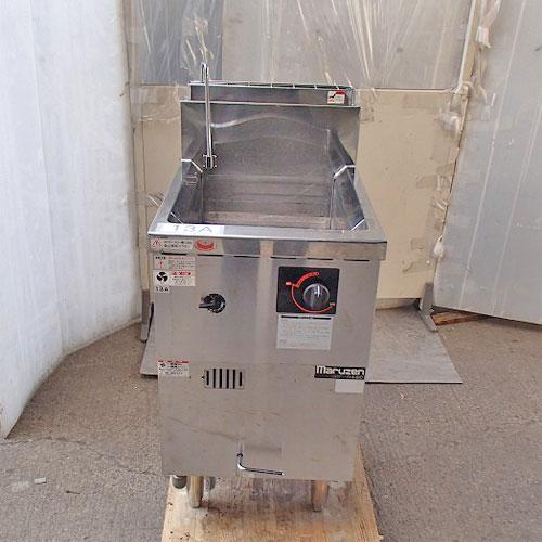 【中古】ゆで麺機 冷凍麺釜 マルゼン MRF-046C 幅450×奥行600×高さ800 都市ガス 【送料無料】【業務用】