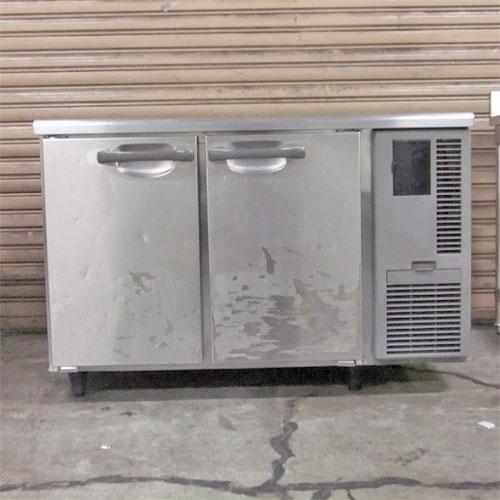 【中古】冷蔵コールドテーブル ホシザキ RT-120SNF-R 幅1200×奥行600×高さ790 【送料別途見積】【業務用】